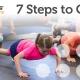 7 steps to calm