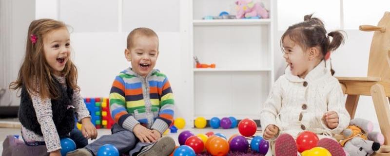 children at preschool
